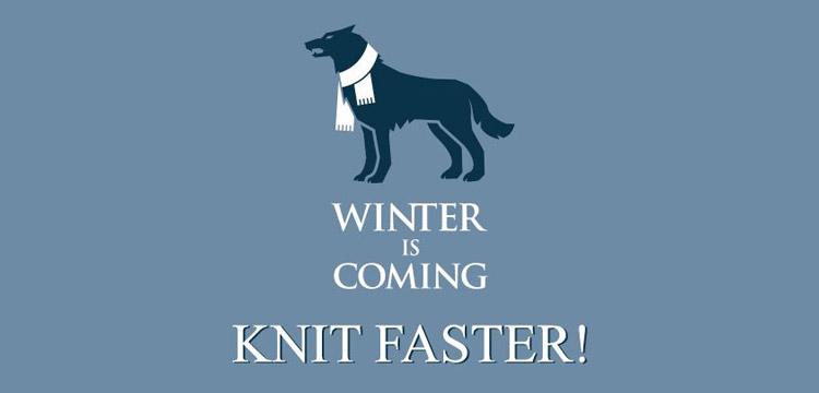 KAL Winter is coming (avec des cadeaux dedans !)