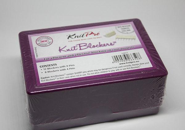 Boîte de peignes de blocage Knit Pro emballée