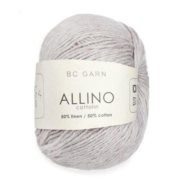 Une pelote de Allino de BC Garn coloris gris argent
