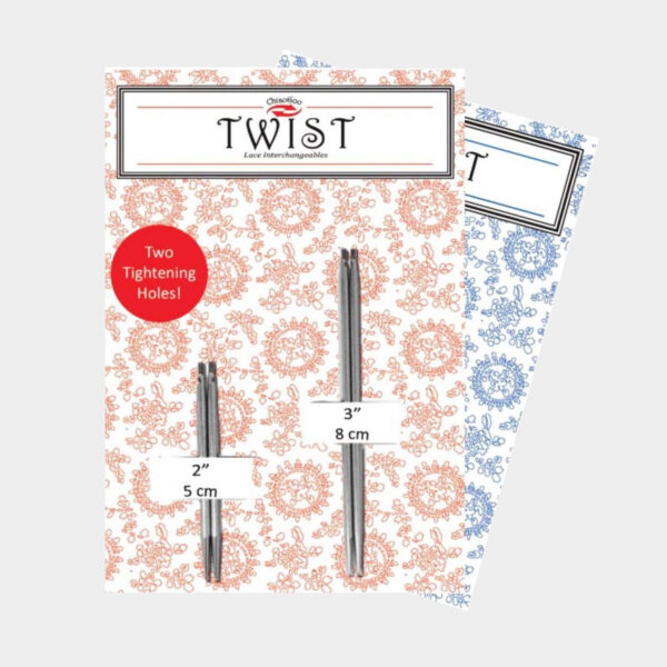 Package of ChiaoGoo Twist Mini Shorties combo presenting 2 pairs of needle tips