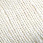 Gros plan sur le fil Allino de BC Garn, coloris 05 (argent)