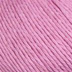 Gros plan sur le fil Allino de BC Garn, coloris 13 (rose moyen froid)