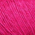 Gros plan sur le fil Allino de BC Garn, coloris 14 (fuschia)
