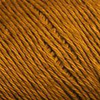 Gros plan sur le fil Allino de BC Garn, coloris 21 (brun chaud moyen)