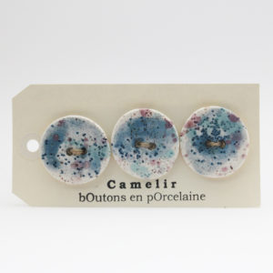 Camelir buttons 3,5 cm (by 3)