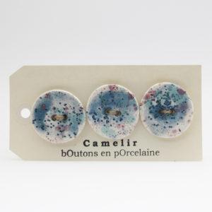 Boutons Camelir 3,5 cm (par 3)