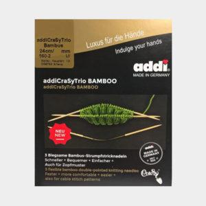 Addi Crasy Trio Bambou