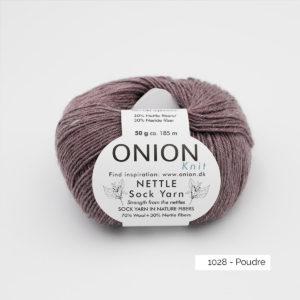 Nettle Sock Yarn – ONION – 1028-Poudre