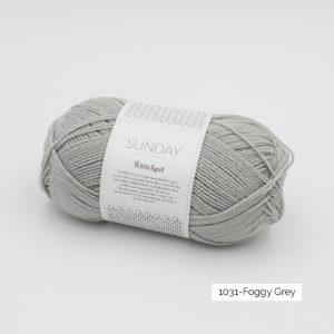 Pelote de Sunday by Petite Knit pour Sandnes Garn coloris Foggy Grey