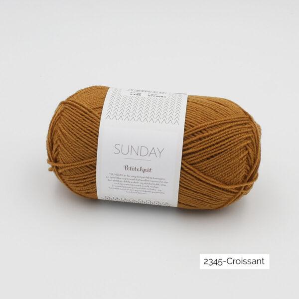 Pelote de Sunday by Petite Knit pour Sandnes Garn coloris Croissant