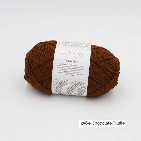 Pelote de Sunday by Petite Knit pour Sandnes Garn coloris Chocolate Truffle