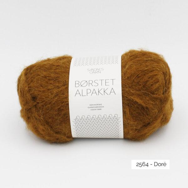 Pelote de Borstet Alpakka de Sandnes Garn coloris Doré