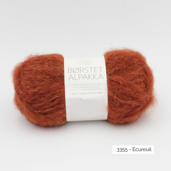 Pelote de Borstet Alpakka de Sandnes Garn coloris Ecureuil