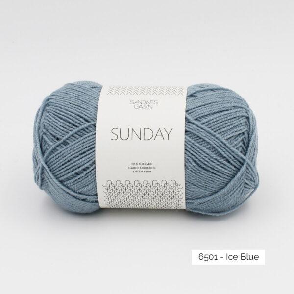 Pelote de Sunday by Petite Knit pour Sandnes Garn coloris Ice Blue
