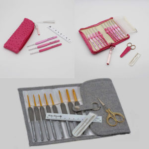 Kit Crochets Tulip Etimo Rose ou Gris