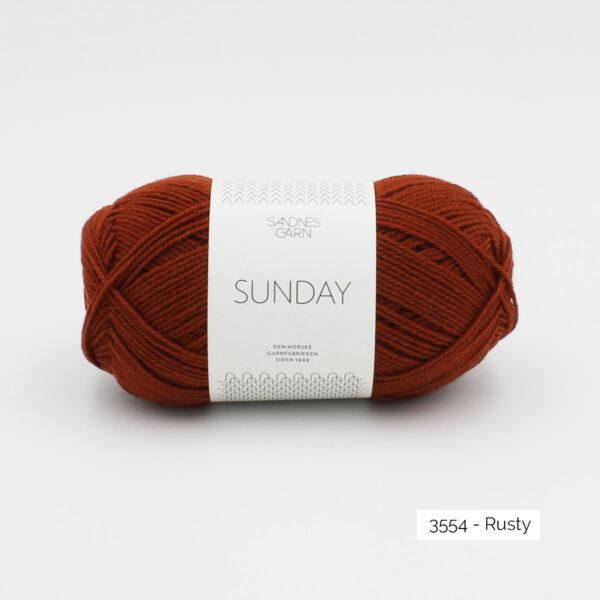 Pelote de Sunday by Petite Knit pour Sandnes Garn coloris Rusty