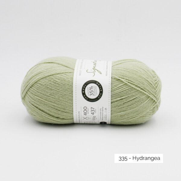 Pelote de Signature de West Yorkshire Spinners coloris Hydrangea