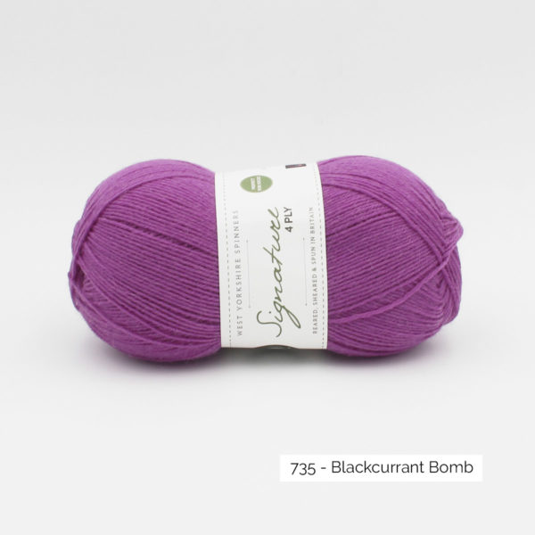 West Yorkshire Spinners Signature 4 ply