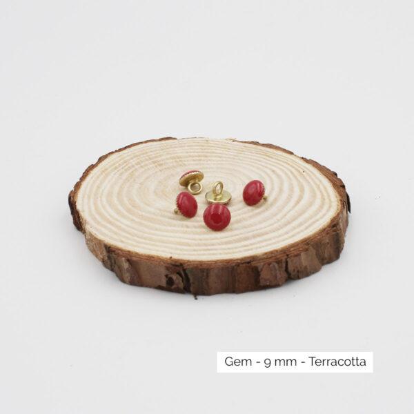 Boutons Gem - Atelier Brunette