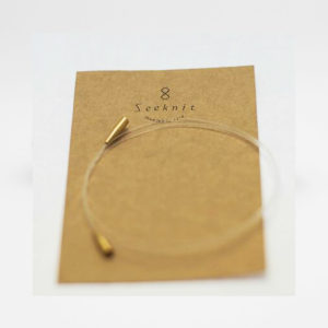 One Kinki Amibari Seeknit cable for interchangeable circular needles, in its packaging
