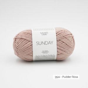 Pelote de Sunday by Petite Knit pour Sandnes Garn coloris Puuder Rosa