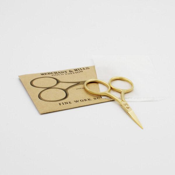 Petits ciseaux Merchant & Mills édition spéciale dorés