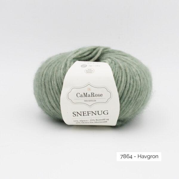 Une pelote de Snefnug de CaMaRose coloris Havgron (vert d'eau)