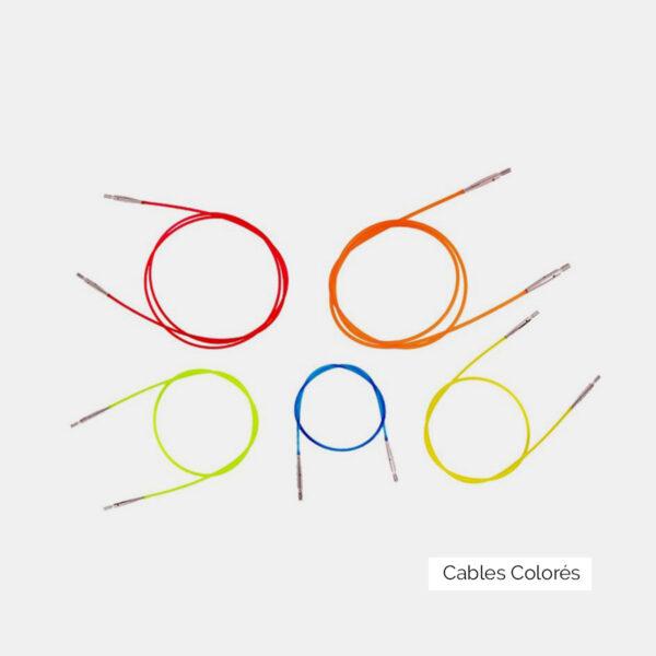 Collection de câbles Knit Pro colorés