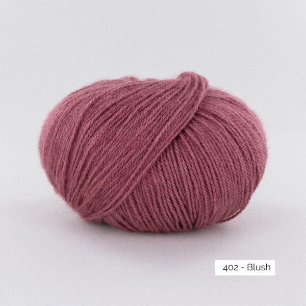 Une pelote de Moustache de Fonty coloris Blush