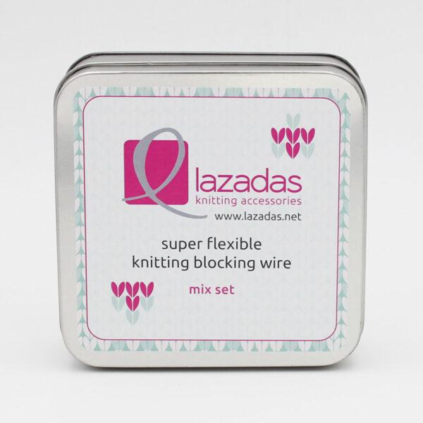 Présentation de la boîte de rangement du kit de blocage Lazadas mix