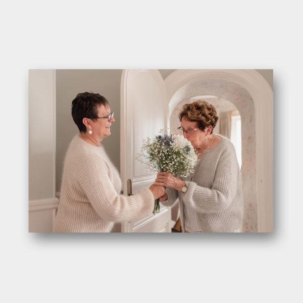 """Photo des modèles """"duo mère et grand-mère"""" du livre Tricot Duos de Lainamourée"""