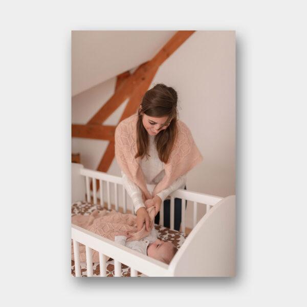 """Photo du modèle """"Louise"""" du livre Tricot Duos de Lainamourée"""