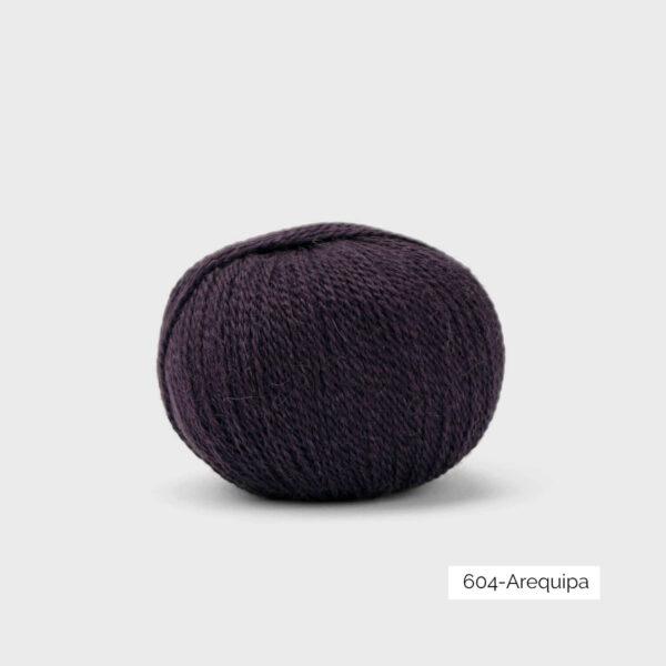 Une pelote de Balayage de Pascuali dans le coloris Arequipa (violet foncé grisé)