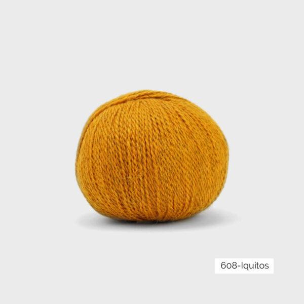 Une pelote de Balayage de Pascuali dans le coloris Iquitos (jaune d'or)