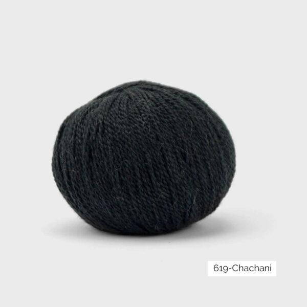 Une pelote de Balayage de Pascuali dans le coloris Chachani (anthracite)
