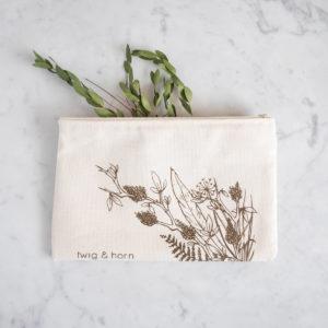 Pochette Zippée – Twig & Horn