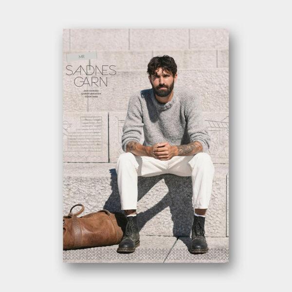 Couverture du catalogue de patrons de tricot pour Hommes de Sandnes Garn n°2015