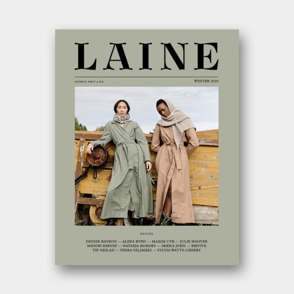 Couverture du magazine LAINE Issue 10 Winter 2020 (numéro 10, hiver 2020)