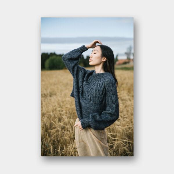 Modèle présent dans le magazine Laine Issue 10 Winter 2020
