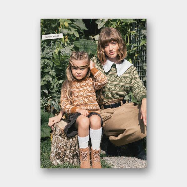 Couverture du catalogue de patrons de tricot jacquard de Sandnes Garn n°63