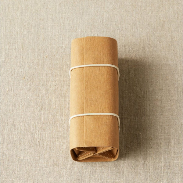 Display of Cocoknits' Accessory Roll, closed