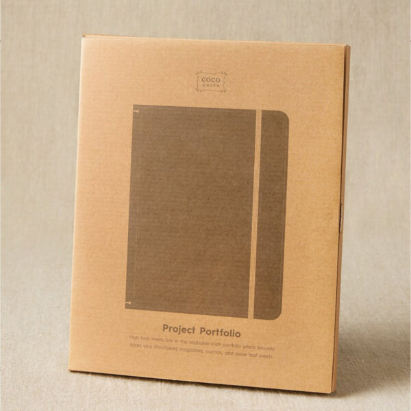 Cocoknits' Project Portfolio packaging