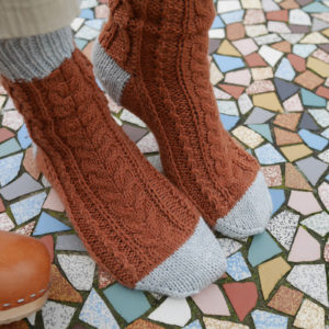 Madame Monsieur Socks Knitting Kit