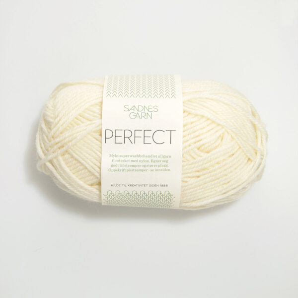 Une pelote de Perfect de Sandnes Garn coloris White