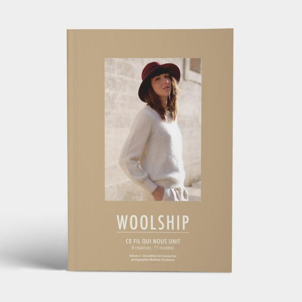 Couverture du livre Woolship, ce fil qui nous unit, édité par Julie Partie pour Lili Comme Tout