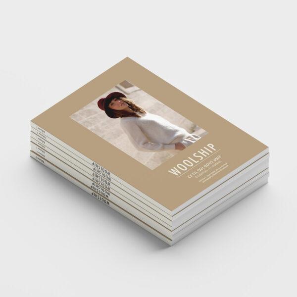 Pile de livres Woolship édité par Julie Partie pour Lili Comme Tout