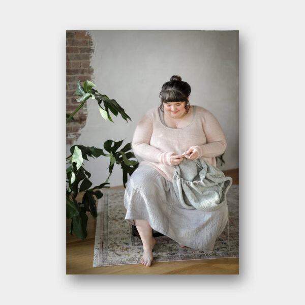 Présentation de modèles à coudre proposés dans le livre Embody de Jacqueline Cieslak