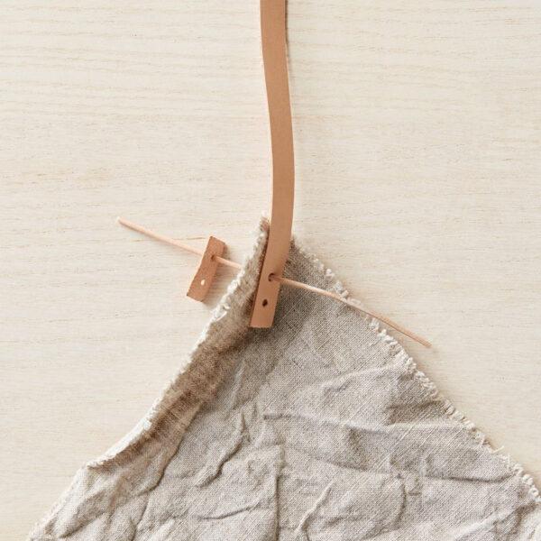 Présentation de la technique d'installation des poignées pour sac en cuir de Cocoknits