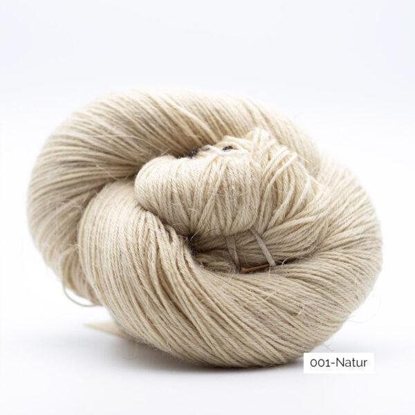 Un écheveau de Lazy Linen de Kremke Soul Wool coloris Natur (naturel)