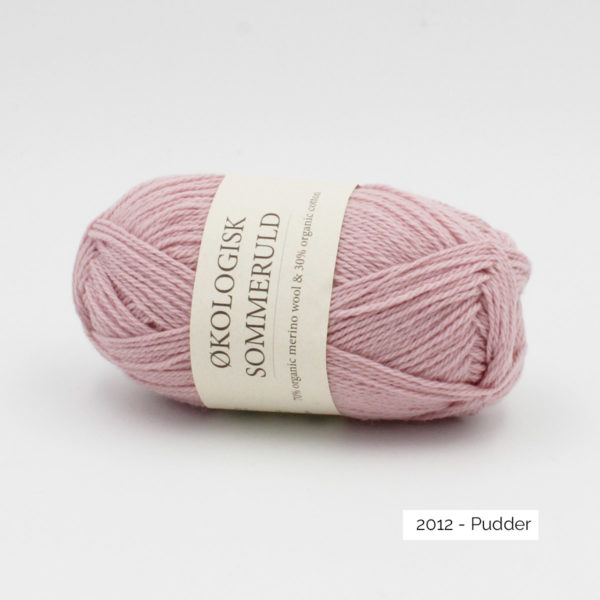 Une pelote de Okologist Sommeruld de CaMaRose coloris Pudder